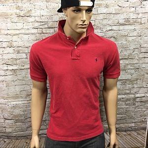 Men's Polo Ralph Lauren Preppy Polo Shirt Sz L
